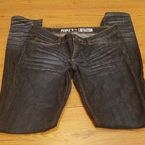 Peoples liberation size 29 women's jeans skinny
